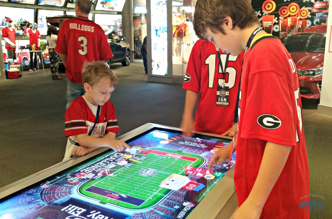 College football fans looking for things to do in Atlanta can't pass up a visit to the College Football Hall of Fame!