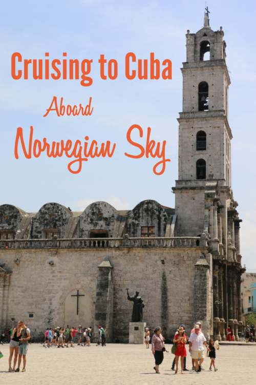 Read our Norwegian Sky review before booking your next trip to Cuba!