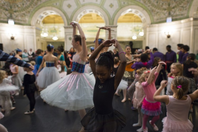 A Dance-Along Nutcracker is one of our favorite Chicago holiday traditions.