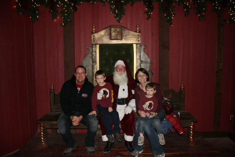 Tips for Visiting the North Pole Experience: A digital picture with Santa included with your ticket!