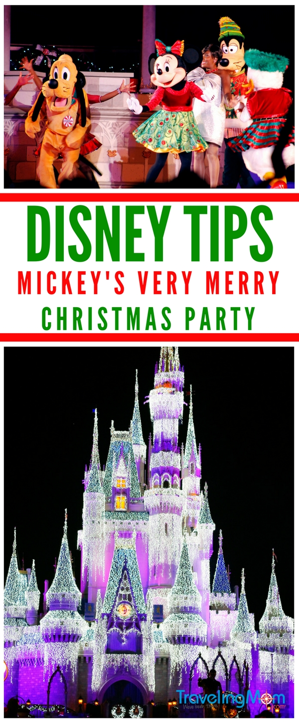 Christmas at Disney is a special time of year. Make the most of your time and avoid the crowds! We've got 8 essential Mickey's Very Merry Christmas Party tips that will help you navigate the event easily.