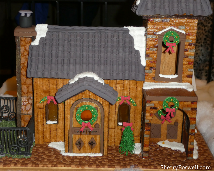 What makes the Omni Grove Park Inn the best Christmas hotel in Asheville? The gingerbread creations for the National Gingerbread Competition.
