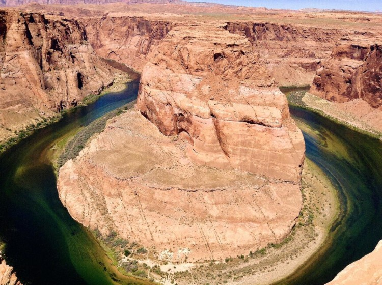 If you're looking for adventure and amazing hiking, try Horseshoe Bend, one of the best things to do in Page, AZ.
