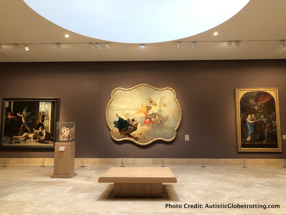 Kids will love the compact well lit halls of the Norton Simon Pasadena.
