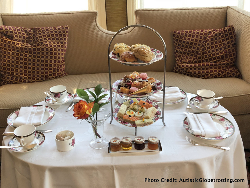 Best Things to Do in Pasadena with Kids include high tea at the Langham Pasadena.
