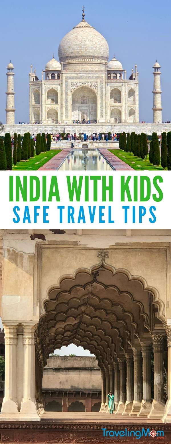 Taking a trip to India with the kids and not sure where to start? Here's our top tips for visiting India with kids - including how to stay safe!