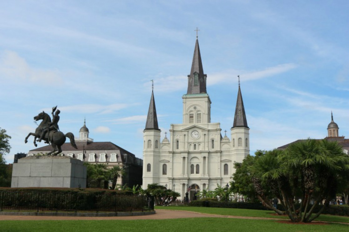 Jackson Square is a must-do attraction when making your New Orleans Beyond Bourbon Street list of things to see and do