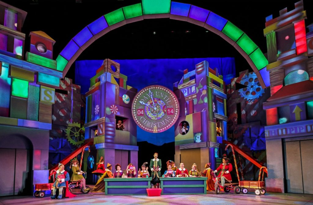 Christmas theater shows - Elf the Musical