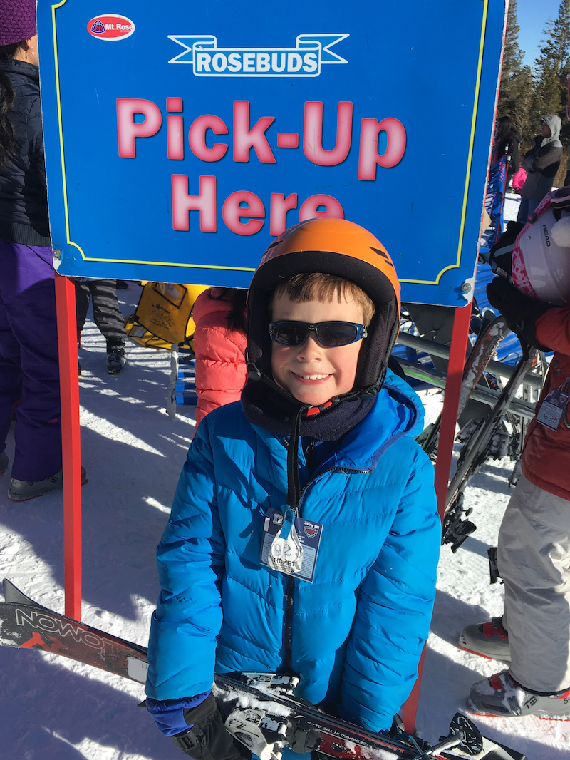 Ski School at one of the Top Ski Resorts for Kids in Lake Tahoe