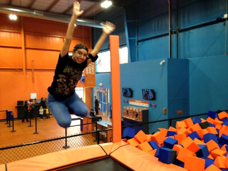 One of the best indoor Pittsburgh activities with kids is a visit to Sky Zone in Monroeville.