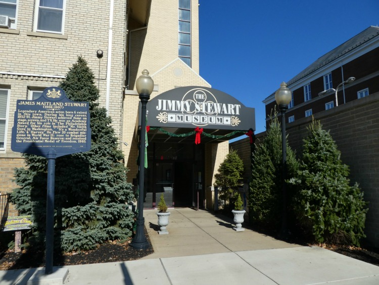 Jimmy Stewart's Hometown celebrates its wonderful life. A stop at the museum is a no brainer.