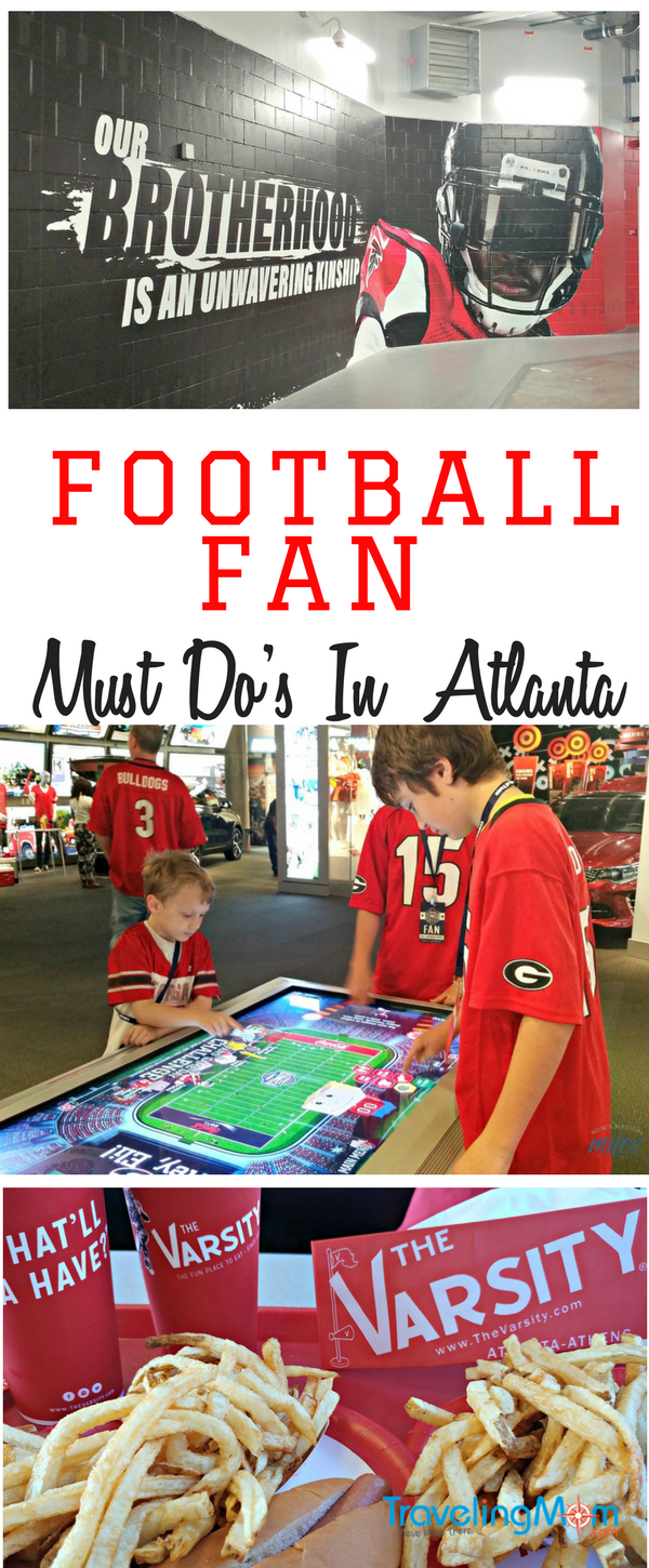 If you're football fans looking for things to do in Atlanta, we've got you covered! Check out our five MUST DO activities in Atlanta for football fans!