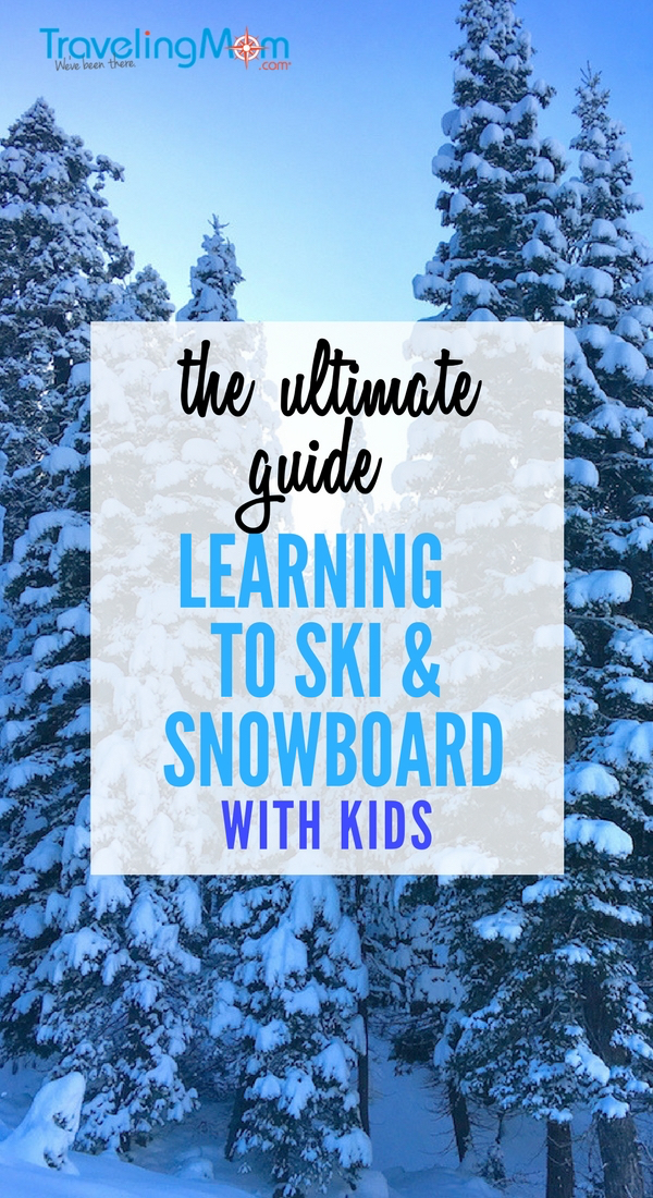 Here's the ultimate guide to loading up the kids and learning to ski and snowboard. With topics like what to expect for your first lesson, healthy snacks, and how to dress for skiing, this article is your go-to source.