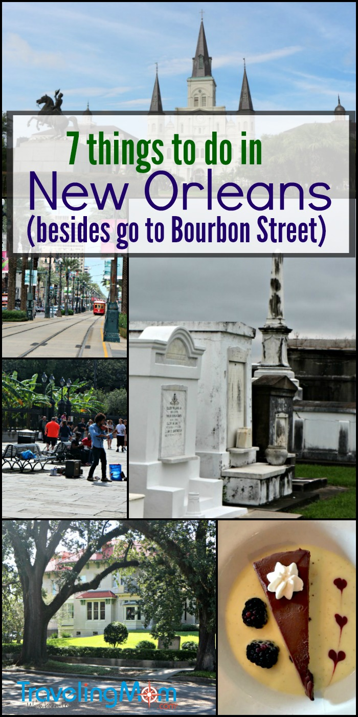 From the Garden District to Graveyards, here are 7 of the best things to do in New Orleans beyond Bourbon Street. Find your favorite!
