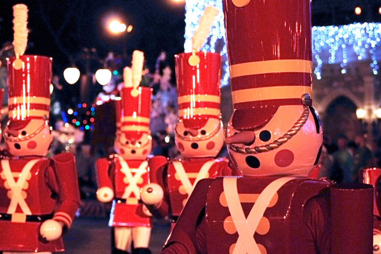 Mickey's Very Merry Christmas Party Tip- See the parade at the end of the party.