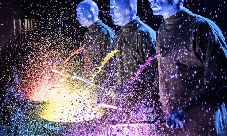 The Blue Man Group put STEAM into our STEM activities in Chicago.