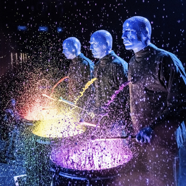 Looking for STEM activities for kids? Try the Blue Man Group!