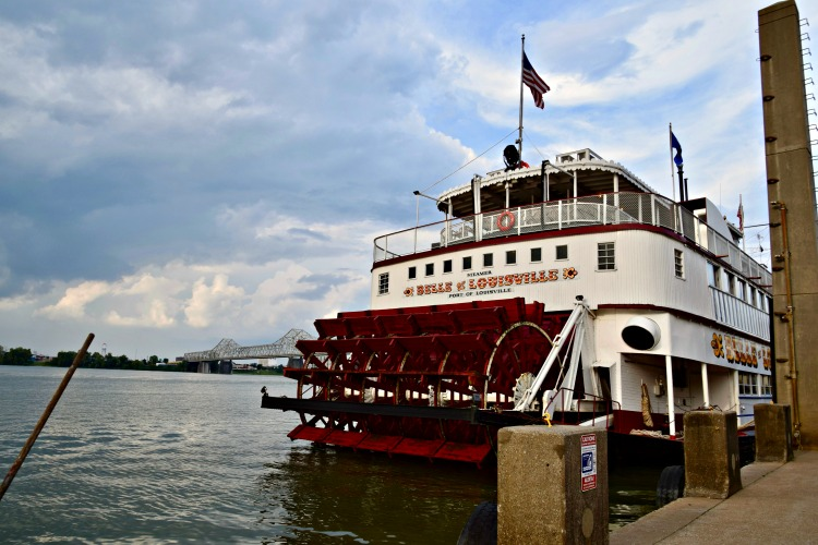 Sailing the Ohio River on Louisville's iconic paddleboats should definitely be on your 2 day itinerary for Louisville, Kentucky.