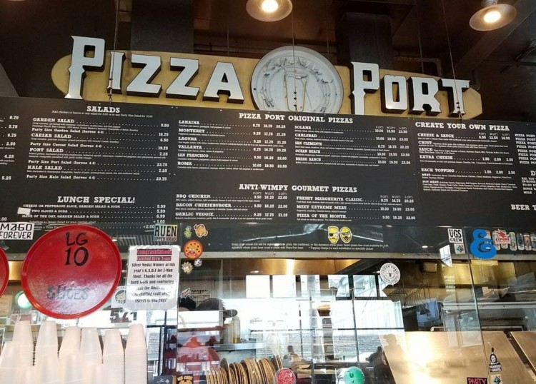 Eat at Pizza Port on a 2-day itinerary in Carlsbad.