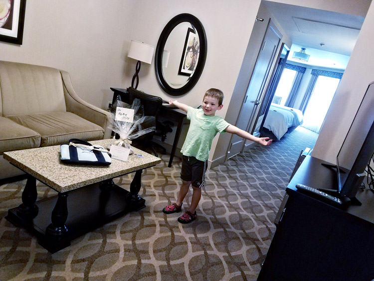 Things to do in Carlsbad with kids - stay at the West Inn