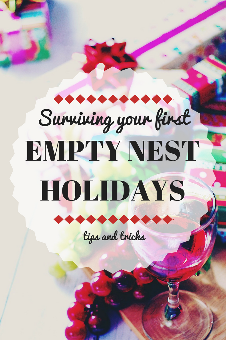 When the kids and grandkids no longer come home for Christmas and the holidays, these empty nest tips can help you cope.