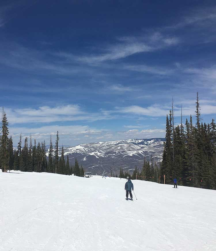 Terrain may play into choosing a family friendly ski resort.