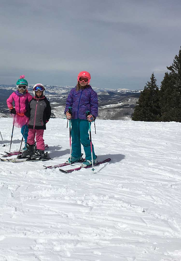 Some of the back bowls on Vail Mountain have fun intermediate runs as one of 7 family friendly ski resorts in Colorado.