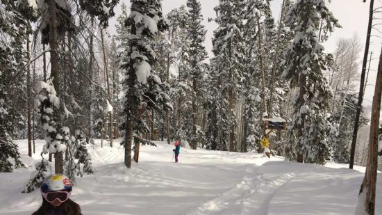 There are plenty of opportunities for kids to ski free in Colorado!