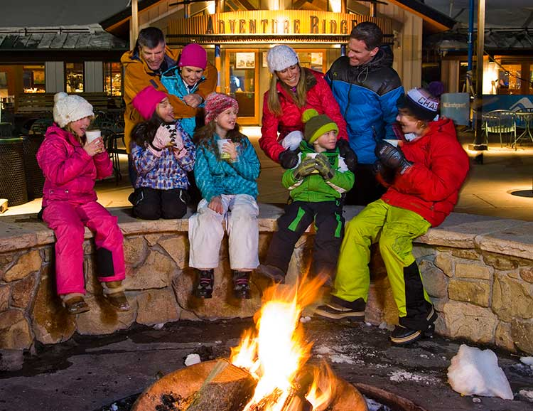 Vail is one of many family friendly ski resorts in Colorado.