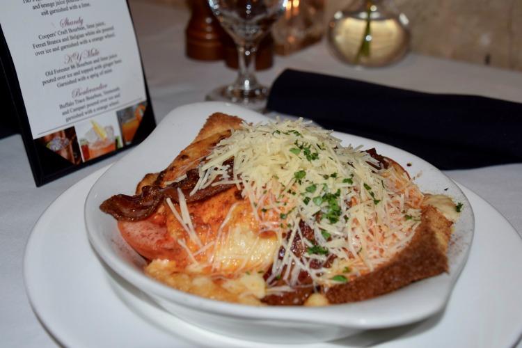 Eating an iconic Kentucky Hot Brown should definitely be on your 2 day itinerary for Louisville, Kentucky.