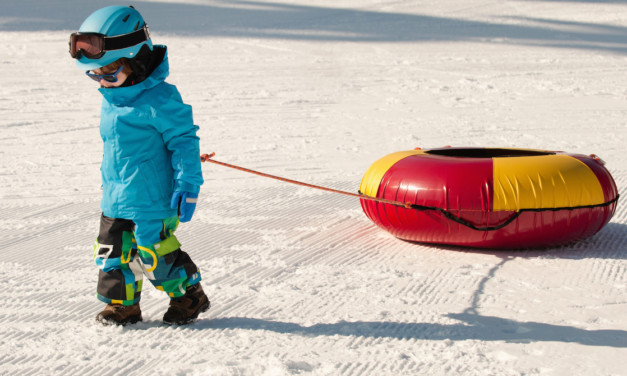 Winter Vacation Fun: 7 Tips for Taking the Kids Snow Tubing