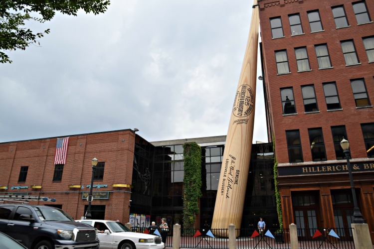 Touring the Louisville Slugger Museum should definitely be on your 2 day itinerary for Louisville, Kentucky.