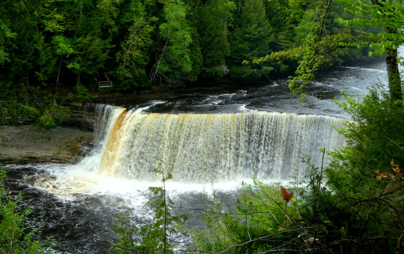 Tahquamenon Falls, Things to do in upper Michigan UP, Roadside Attractions