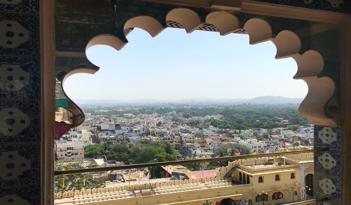 One of our best tips for taking kids to India is to stop and look at the gorgeous views!