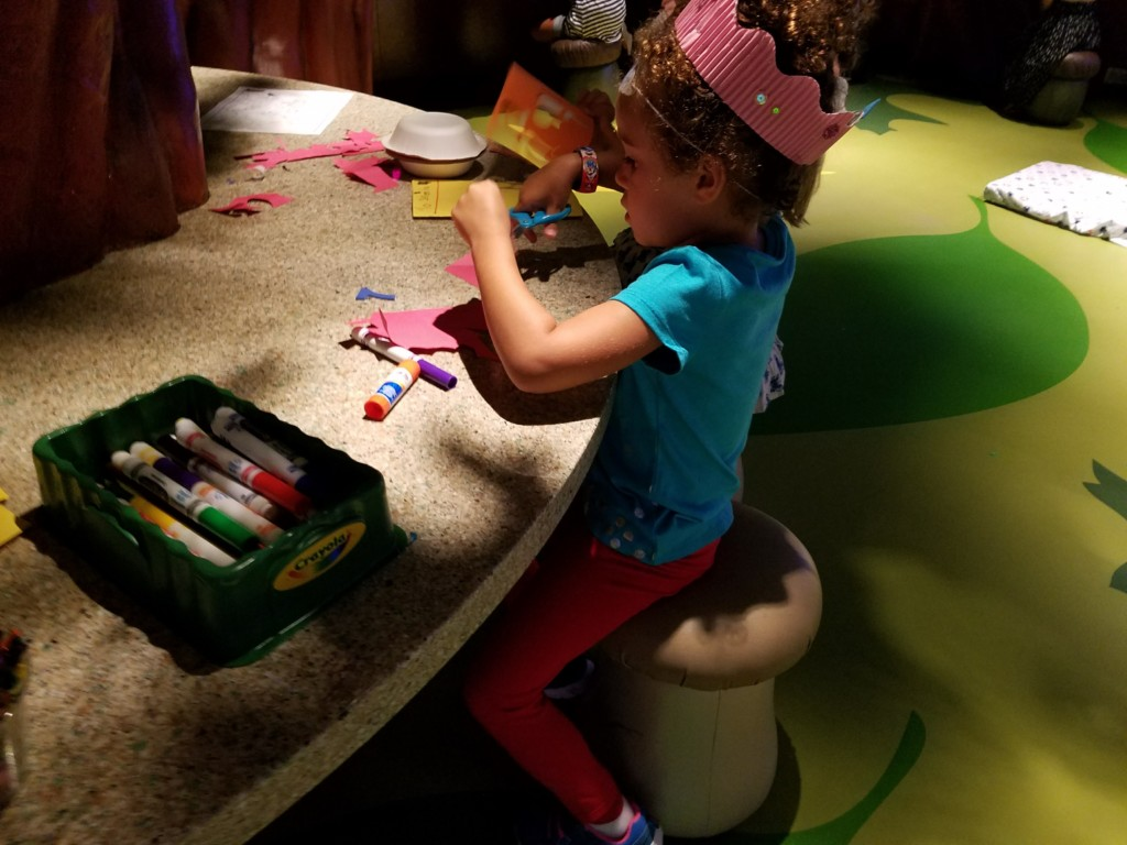 The arts and crafts at the kids club got thumbs up in our Disney Dream Cruise review.