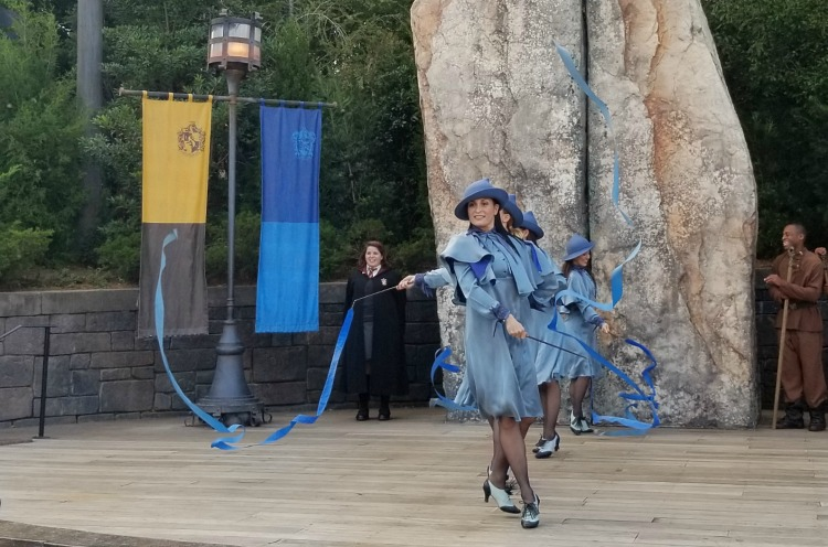Want more tips for Universal Orlando Resort? Catch a performance from the students of Beauxbatons Academy Of Magic..