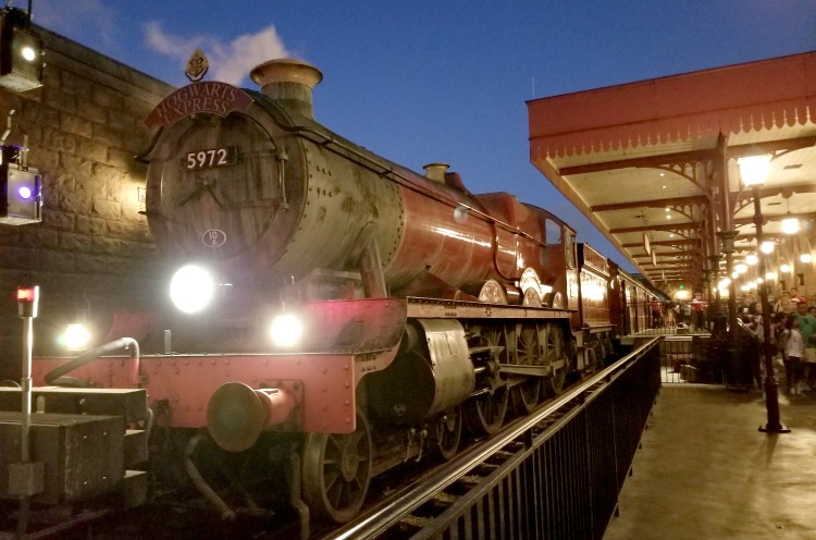 There's aren't many places outside of Universal Studios Orlando where one can ride the Hogwarts Express. It's one of our favorite tips for Harry Potter fans.