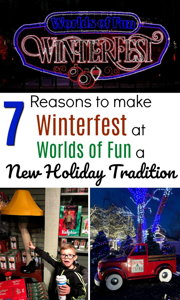 Looking to enjoy Worlds of Fun WinterFest with kids? Here are seven reasons why you need to make it a new holiday tradition!