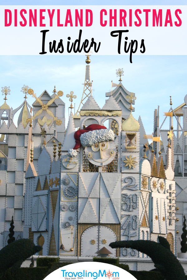Insider tips for what to do, eat and see during Disneyland Christmas celebrations including holiday overlays and specialty treats. Find out more about where to find snowfall, how to meet Santa, parade viewing tips, seasonal rides in Cars Land and Festival of Holidays at Disney California Adventure park. These Disneyland Christmas tips will show you how to experience all the holiday magic! #Disneyland #HolidaysBeginHere #Christmas | Disneyland California | Disney | Christmas at Disneyland