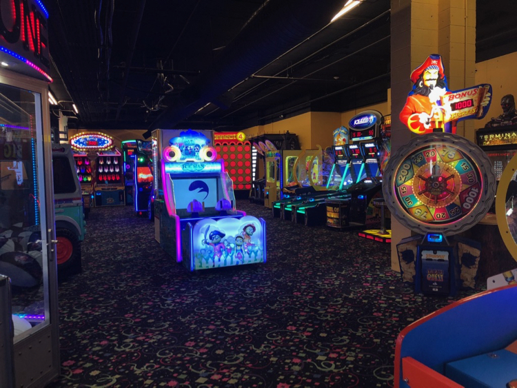 Northern Lights Arcade at Great Wolf Lodge - TravelingMom