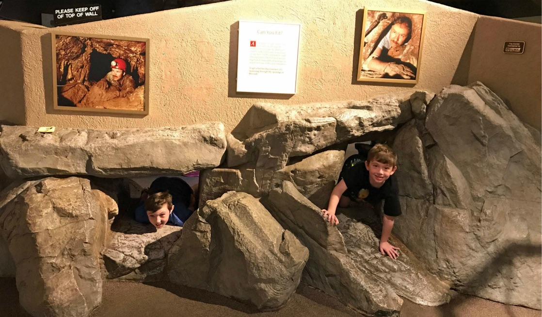 Ready to explore Cave Tours in Arizona with Kids, don't miss the Hands on exhibits at Kartchner Caverns State Park