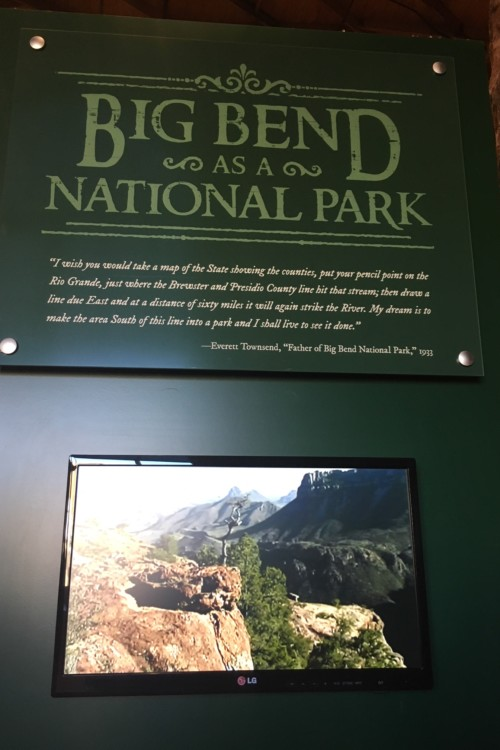 Videos about the history of Big Bend National Park are mixed with interactive exhibits at the Museum of the Big Bend. Located on Sul Ross University's campus admission is free.