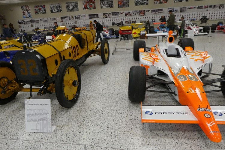 The Indianapolis Motor Speedway has a museum filled with historic cars and memorabilia. It's one of the fun things to do with kids in Indianapolis.