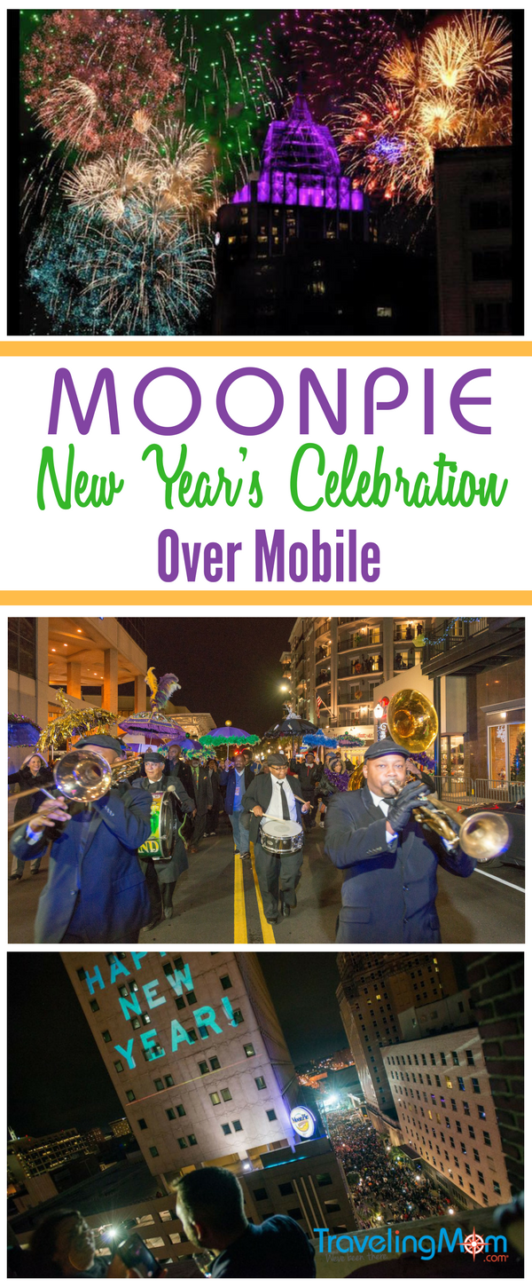 MoonPie Over Mobile is a family friendly New Year's Eve celebration held each year in Mobile, AL.