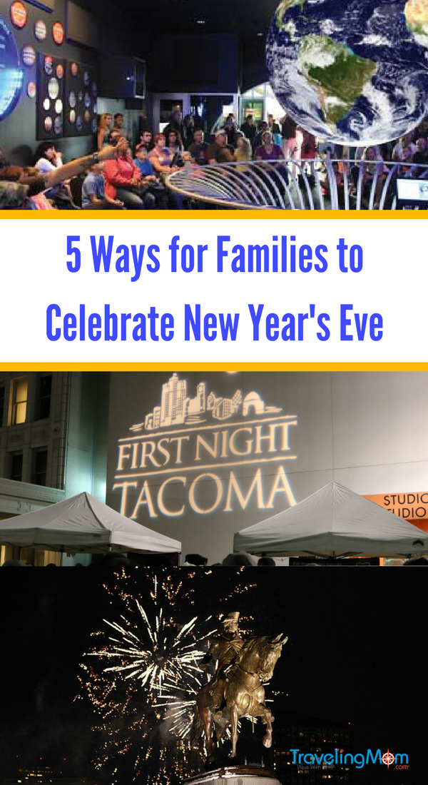 When it comes to family friendly New Year's Eve ideas, Traveling Mom has more than a few for you to consider.