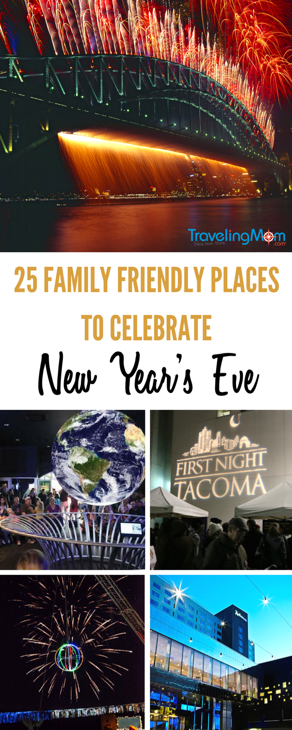 Consider this list of 25 places to celebrate New Year's Eve as a family.
