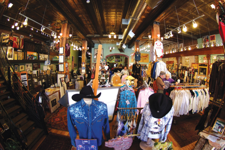 Channel your inner cowboy or cowgirl at legendary Rockmount Ranch Wear in downtown Denver.