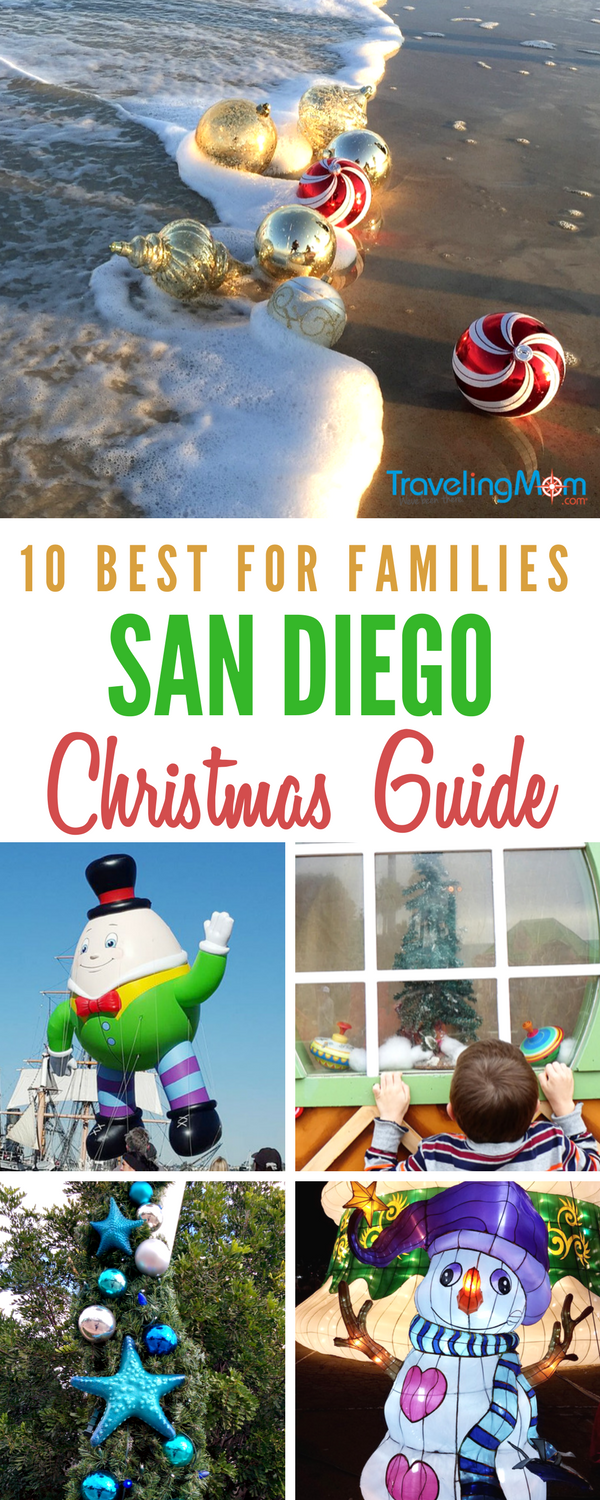 These 10 San Diego Christmas events offer the spirit of the season! Our native San Diegan TravelingMom has all the tips in this top ten San Diego holiday guide of events!