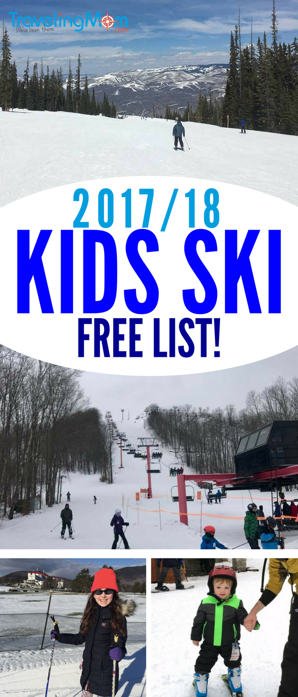 Is this the year your kids learn to ski? Or maybe you're just looking to save some money? We have a HUGE list of where your kids ski free across the US for the 2017-2018 season.