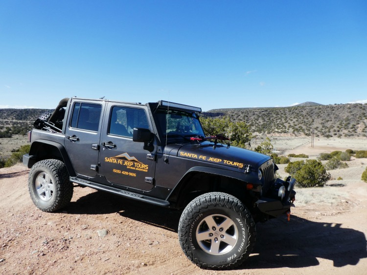 things to see on a southwest road trip in New Mexico - Santa Fe Jeep Tours